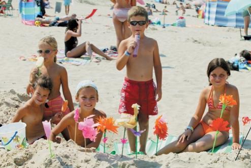 aan strand gelegen vakantiepark belgische kust