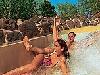 zwembad bij bungalowpark vossemeren