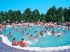 zwembad bij bungalowpark belgisch limburg
